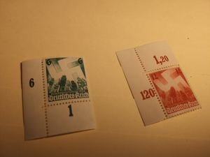 1936 Nuremburg Rally Nazi stamp set. for Sale in Sioux Falls, SD