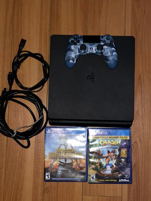 PS4 PlayStation 4 (LIKE NEW!) with games ! for Sale in Tustin, CA