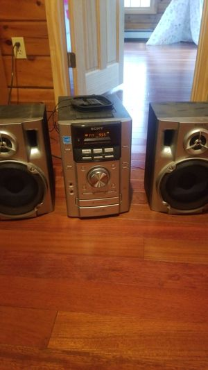 Sony Stero System for Sale in Taunton, MA
