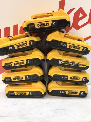 20-Volt MAX Lithium-Ion Compact Battery Pack 2.0Ah for Sale in Bakersfield, CA