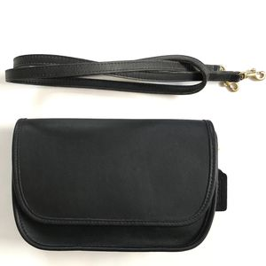 Coach Leatherware Richie Bag in Black (Early 1990's United States Vintage) for Sale in Boston, MA
