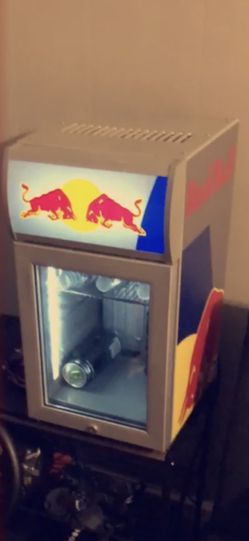 Red Bull Mini Fridge for Sale in Vermilion,  OH