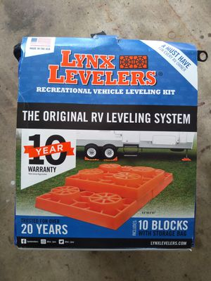 Lynx Levelers rv leveling system for Sale in CORNWALL Borough, PA