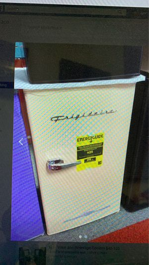 Frigidaire 3.2cf Refrigerator, Peach color,NEW for Sale in WARRENSVL HTS, OH