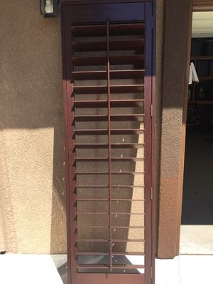 "Wood shutter for back door. 26"" x 84"" for Sale in Corona, CA"