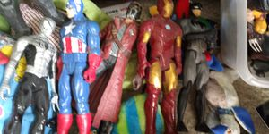 Giant Superheroes Action Figures Collection for Sale in Fort Myers, FL
