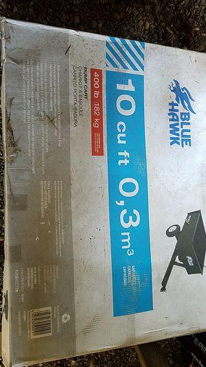 Blue Hawk 10c.f. Towable Cart for Sale in Edgewood, WA