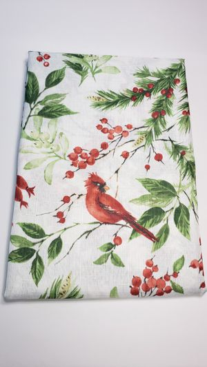 Christmas Holyday TableCloth fabric Oblong 60 in x 84 for Sale in Bolingbrook, IL