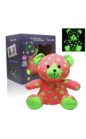 Star Bear | Glow-In-The-Dark Luminous Stuffed Animal Toy Gift - Batteries Not Required (Sister Bear) for Sale in Pomona, CA