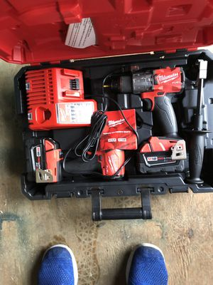 Milwaukee fuel drill and impact set for Sale in Moatsville, WV