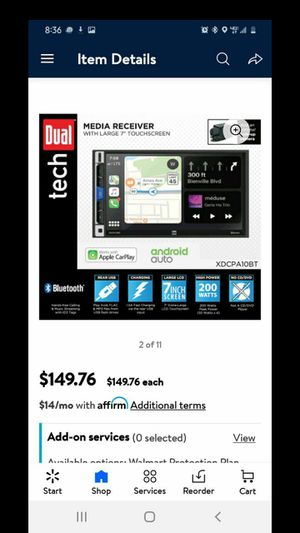 Dual Tech Media Receiver for Sale in Gastonia, NC