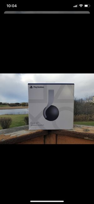 New PS5 Playstation Headset Headphones Pulse 3D for Sale in Artesia, CA