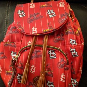 Dooney & Burke STL Cardinals Medium Backpack / Purse 🎒 New W Tags for Sale in Ballwin, MO