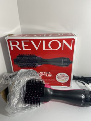 Revelon One-step Hair Dryer Brush and Hot Air Brush, Electric Hair Dryer Volumizer with Negative Ion Curling Dryer Brush Styler for Sale in Glendale, AZ