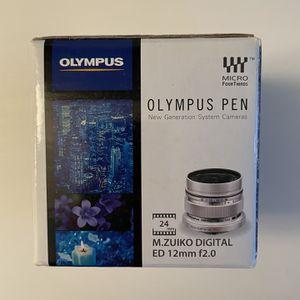 Olympus 12mm F/2.0 for Sale in Charleston, SC