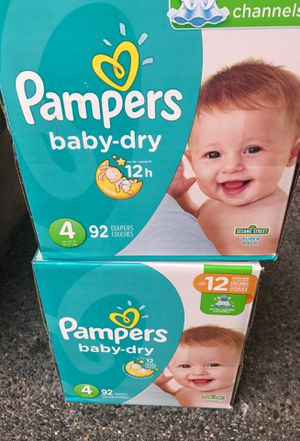 Pampers size 4 for Sale in Renton, WA