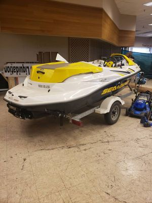 2005 Sea-Doo Sportster jet boat rotax 215 hp with trailer, $7900 or best offer for Sale in Kent, WA