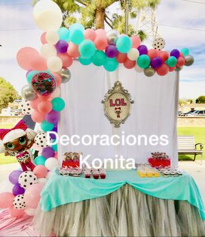 Balloon Garland and Decorations for Sale in Lynwood, CA