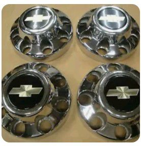 8-lug Chevy center caps for Sale in Belmont, NC