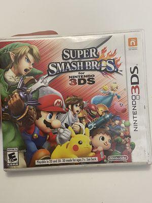 Nintendo 3DS super Smash Bros . for Sale in Riverside, CA