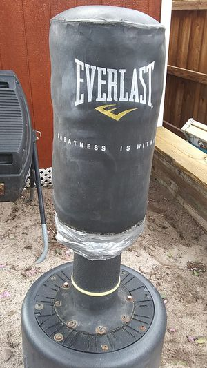 Free standing punching and kicking bag! for Sale in Davenport, FL
