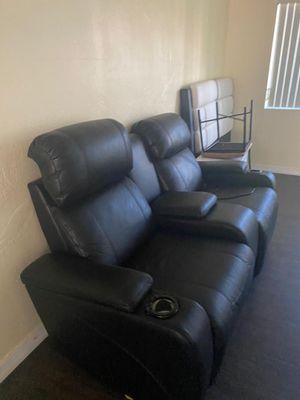 Black couch for Sale in Miami, FL