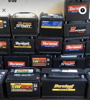 Batteries Cars.trucks. RV's,Semi trucks. Golf carts and more.. for Sale in Hesperia, CA