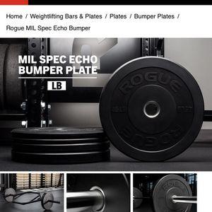 Rogue Bumper Plates for Sale in Hemet, CA