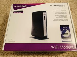 Netgear N450 Modem Router Combo for Sale in San Juan Capistrano, CA