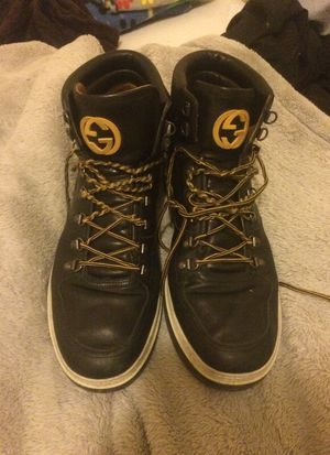 Gucci size US 11 / 10 G hiking boots!!! Very rare!!! for Sale in Seattle, WA