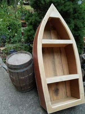 Handcrafted solid wood boat for Sale in Apex, NC