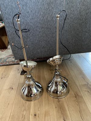 Hanging light fixtures (Pair) for Sale in San Diego, CA