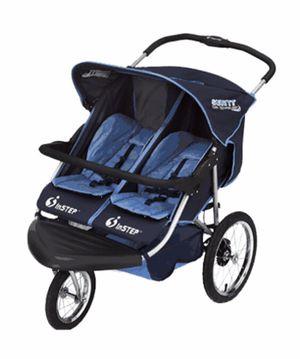 Instep Safari TT Double Seater in Navy-sky blue Stroller NEW (PRICE REDUCED) for Sale in Glendale, AZ