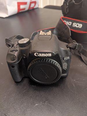 Canon EOS 500D DSLR for Sale in Santa Clara, CA