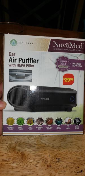 NuvoMed car air purifier for Sale in Streamwood, IL