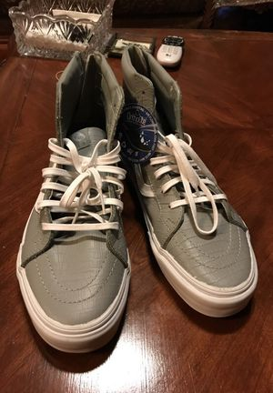 Grey Crock Vans (High Top) Size 11 for Sale in Los Angeles, CA