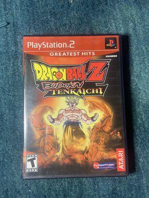Dragon Ball Z Budokai Tenkaichi PS2 for Sale in Riverside, CA