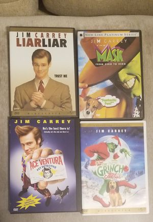 Jim Carrey DVD lot for Sale in Kannapolis, NC