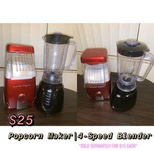 Popcorn Maker | 4-Speed Blender for Sale in St. Louis, MO