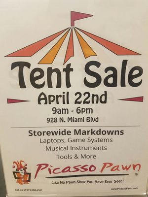TENT SALE for Sale in Durham, NC