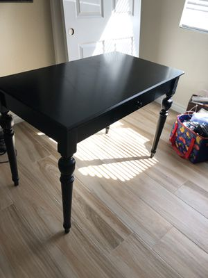 Black desk for Sale in North Las Vegas, NV