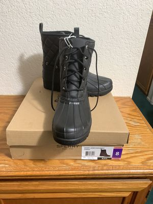 New authentic Sperry women's snow/rain boots for Sale in San Bernardino, CA