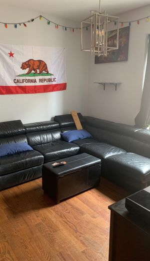 Large large sectional couch for Sale in Brooklyn, NY