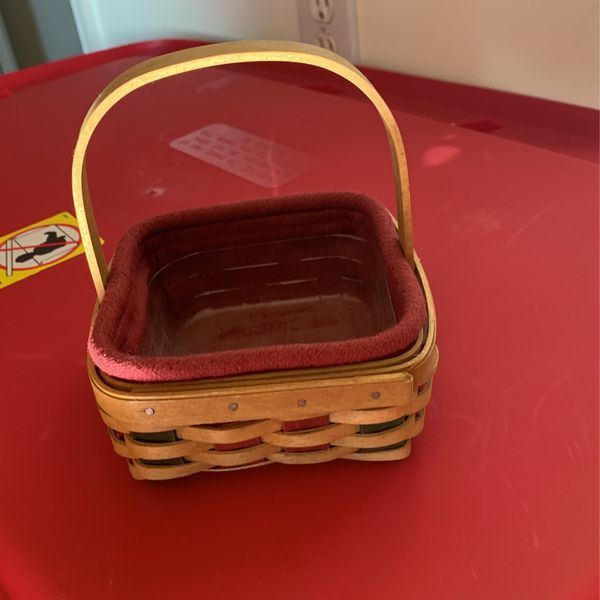 2003 Holiday Helper Longaberger Basket With Liners