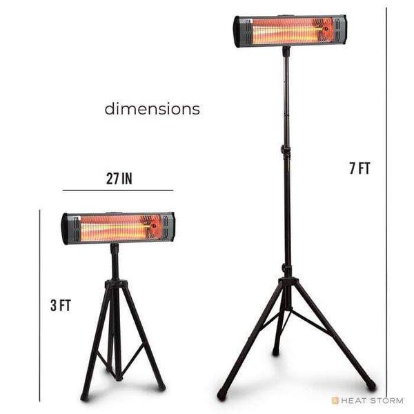 1500 Watt Electric Patio Infrared Heater