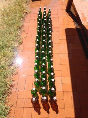 Antique resealable beer bottles pint size and 24 oz for Sale in Mesa, AZ