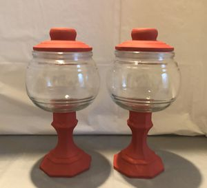 Red Chalk Paint Jars for Sale in Riverton, UT