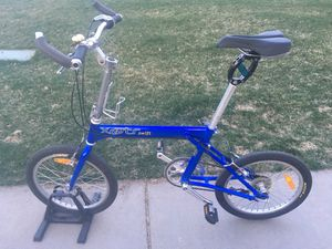 Xootr Swift Folding Bike Bicycle Aluminum Extra Large XL 8 speed Made in USA for Sale in Denver, CO