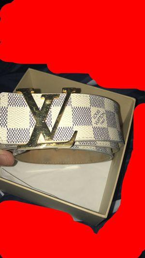 100% authentic Louis Vuitton belt for Sale in Phoenix, AZ