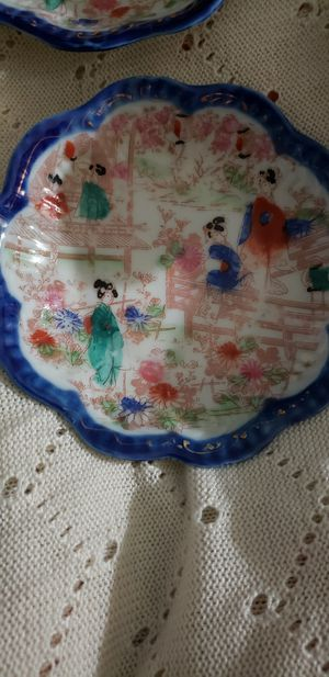 Nippon scalloped plates for Sale in Wescosville, PA